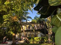 Το σοβαρό σπίτι Hemingway στοκ εικόνα