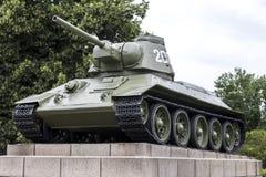 Το σοβιετικό πολεμικό μνημείο το Βερολίνο Γερμανία Στοκ Εικόνα