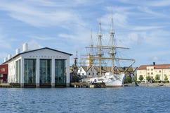 Το σουηδικό εθνικό ναυτικό μουσείο Στοκ φωτογραφίες με δικαίωμα ελεύθερης χρήσης