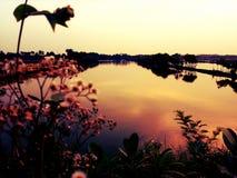 Το σούρουπο Στοκ φωτογραφίες με δικαίωμα ελεύθερης χρήσης
