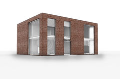 το σπίτι απομονώνει σύγχρ&omicron Στοκ Φωτογραφία