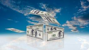 Το σπίτι αποτελείται από τους λογαριασμούς μετρητών, η έννοια της επένδυσης στην κατασκευή, δαπάνες χρημάτων για την κατασκευή απεικόνιση αποθεμάτων