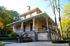 Το σπίτι για τους φιλοξενουμένους σε Mezhigirya Στοκ Εικόνες