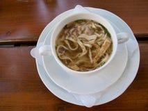 το σπίτι κάνει noodle στοκ εικόνες