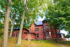 Το σπίτι και το μουσείο Mark Twain Στοκ φωτογραφίες με δικαίωμα ελεύθερης χρήσης