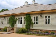 Το σπίτι-μουσείο του Αλεξάνδρου Pushkin Στοκ φωτογραφίες με δικαίωμα ελεύθερης χρήσης