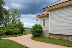 Το σπίτι-μουσείο του Αλεξάνδρου Pushkin Στοκ Φωτογραφία