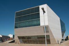 Το σπίτι μουσικής, Casa DA Musica, τόπος συναντήσεως συναυλίας μουσικής στο Πόρτο, Πορτογαλία στοκ φωτογραφία