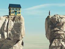 Το σπίτι ονείρου ελεύθερη απεικόνιση δικαιώματος
