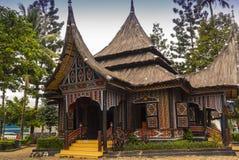 Το σπίτι παράδοσης και πολιτισμού της Ινδονησίας Στοκ φωτογραφία με δικαίωμα ελεύθερης χρήσης