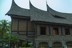 Το σπίτι παράδοσης και πολιτισμού της Ινδονησίας Στοκ Φωτογραφία