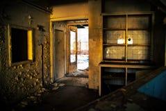 το σπίτι παραμέλησε παλαιό Στοκ Φωτογραφίες