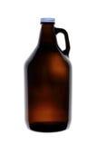 Το σπίτι παρασκευάζει την μπύρα Growler στοκ φωτογραφία