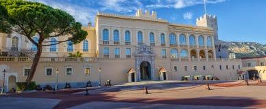 Το σπίτι παλατιών πριγκήπων στο βασιλικό ναυπηγείο στο Μονακό Στοκ Φωτογραφίες
