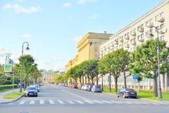 Το σπίτι πολιτικού καταδικάζει στην Άγιος-Πετρούπολη Στοκ Εικόνα