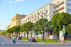 Το σπίτι πολιτικού καταδικάζει στην Άγιος-Πετρούπολη Στοκ εικόνες με δικαίωμα ελεύθερης χρήσης