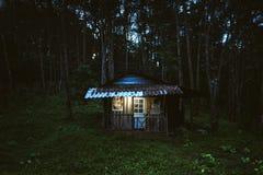 Το σπίτι στο οποίο ζει ένας μανιακός στοκ εικόνες