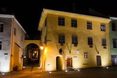 Το σπίτι του dracula Vlad Tepes στοκ φωτογραφίες