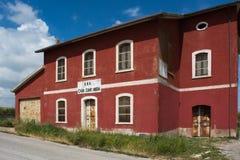 Το σπίτι Cantoniera Στοκ Εικόνες