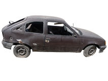 Το σπασμένο αυτοκίνητο Στοκ Φωτογραφία
