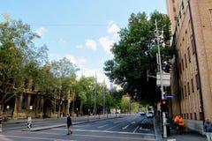 Το σταυροδρόμι Στοκ εικόνα με δικαίωμα ελεύθερης χρήσης