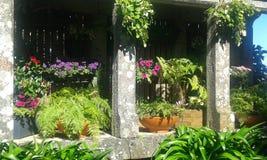 Το στοιχείο σχεδίου του κήπου στοκ φωτογραφία