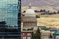 το στο κέντρο της πόλης Idaho Στοκ εικόνα με δικαίωμα ελεύθερης χρήσης