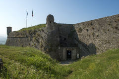 Το στρατιωτικό φρούριο Gavi Ligure Στοκ Εικόνα