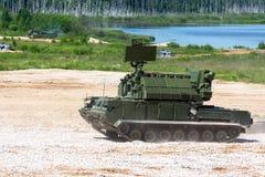Το στρατιωτικό όχημα Στοκ Εικόνες
