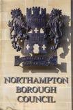 Το Συμβούλιο δήμων του Νόρθαμπτον στοκ εικόνα