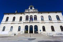 Το συμβούλιο πόλεων Levier, Jura Στοκ φωτογραφία με δικαίωμα ελεύθερης χρήσης