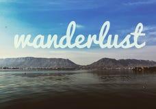 Το συναίσθημα του wanderlust στοκ φωτογραφία με δικαίωμα ελεύθερης χρήσης