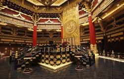 Το συνεδρίαση-σπίτι των αρχαίων κινεζικών αυτοκρατόρων Στοκ φωτογραφίες με δικαίωμα ελεύθερης χρήσης