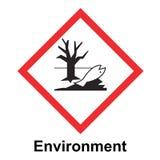 Το συνολικά εναρμονισμένο σύστημα της ταξινόμησης και μαρκάρισμα του διανύσματος χημικών ουσιών στο άσπρο υπόβαθρο διανυσματική απεικόνιση