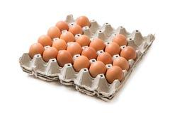 Το συστατικό επιτροπής πακέτων αυγών προετοιμάζεται γιατί τα τρόφιμα στο συστατικό επιτροπής πακέτων εστιατορίων isolateggs προετ Στοκ Εικόνες
