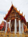 Το σχέδιο των όμορφων ταϊλανδικών ναών στοκ εικόνες με δικαίωμα ελεύθερης χρήσης