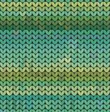 Το σχέδιο πουλόβερ πλέκει Στοκ Εικόνα