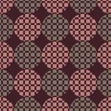 Το σχέδιο των κύκλων και των τετραγώνων Στοκ Εικόνες