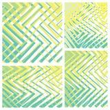 Το σχέδιο των μεμονωμένων ορθογωνίων Στοκ Εικόνες