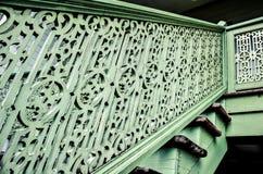 Το σχέδιο των ξύλινων σκαλοπατιών Στοκ φωτογραφία με δικαίωμα ελεύθερης χρήσης