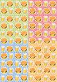 Το σχέδιο των τροφίμων Στοκ Φωτογραφίες