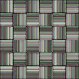 Το σχέδιο των χρωματισμένων τετραγώνων Στοκ φωτογραφία με δικαίωμα ελεύθερης χρήσης