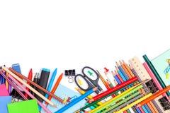 το σχολείο γραφείων απεικόνισης παρέχει το διάνυσμα Στοκ εικόνα με δικαίωμα ελεύθερης χρήσης