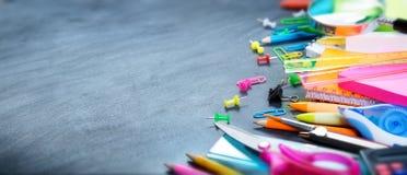 το σχολείο γραφείων απεικόνισης παρέχει το διάνυσμα Στοκ Φωτογραφίες