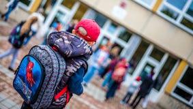 Το σχολείο καλεί Στοκ εικόνες με δικαίωμα ελεύθερης χρήσης