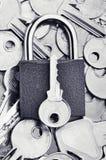 Το σωστό πλήκτρο Στοκ εικόνα με δικαίωμα ελεύθερης χρήσης