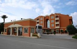 Το σύγχρονο ξενοδοχείο στην Τουρκία. Στοκ Εικόνα