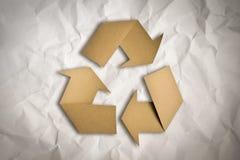 Ανακυκλώνοντας σύμβολο Στοκ φωτογραφία με δικαίωμα ελεύθερης χρήσης