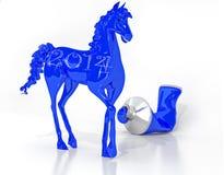 Το σύμβολο του έτους στοκ φωτογραφία με δικαίωμα ελεύθερης χρήσης