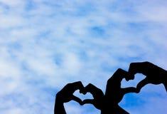 Το σύμβολο χεριών Στοκ φωτογραφίες με δικαίωμα ελεύθερης χρήσης